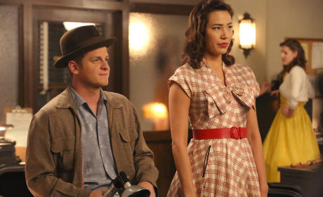 Wendell and Angela Sport their 1950's Attire  - Bones Season 10 Episode 10