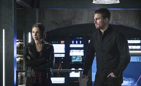 Thea & Oliver - Arrow Season 4 Episode 11