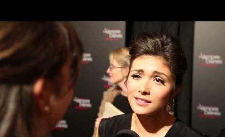 Daniella Pineda Talks The Vampire Diaries
