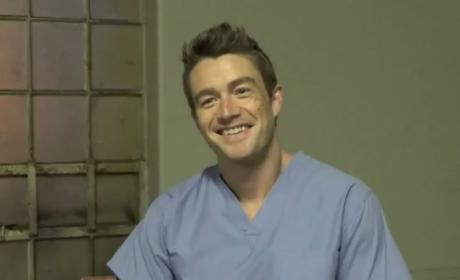 Robert Buckley Set Interview