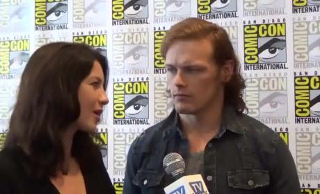 Caitriona Balfe and Sam Heughan Interview
