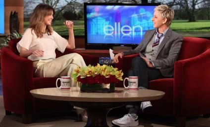 Ellen on Ellen: Pompeo Previews Grey's Musical