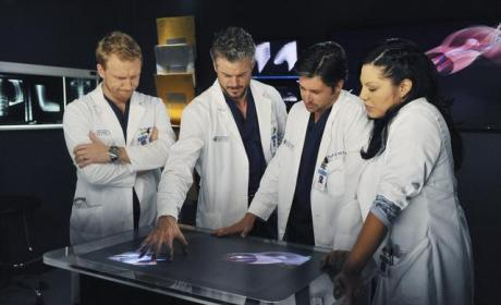 Owen, Mark, Callie and Der
