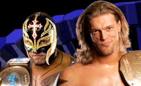 Edge vs. Mysterio