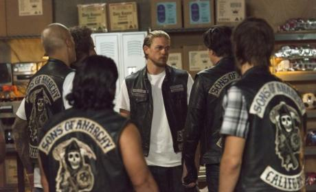 SAMCRO Gathering - Sons of Anarchy Season 7 Episode 11