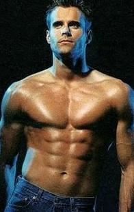 Cameron Mathison, No Shirt