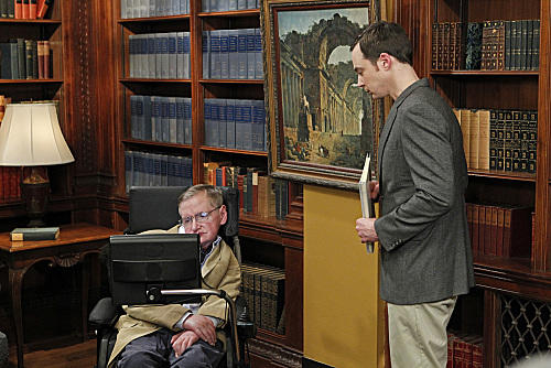 Stephen Hawking on The Big Bang Theory