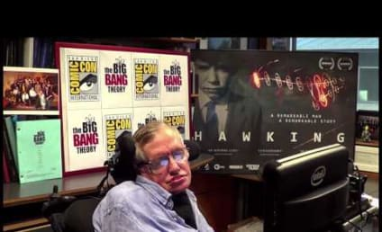 The Big Bang Theory at Comic-Con: That's Stephen Hawking!