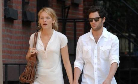 Penn Badgley & Blake Lively: Romance in N.Y.C.