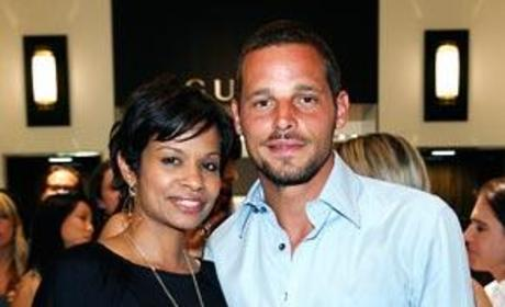 Justin Chambers and Keisha Chambers Photo