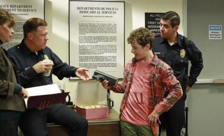 Luke at a Police Station