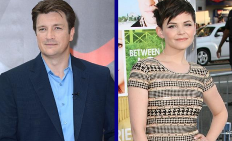 Tournament of TV Fanatic Quarterfinals: Nathan Fillion vs. Ginnifer Goodwin!