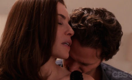 The Good Wife Sneak Peek: Not Totally Safe for Work Warning!