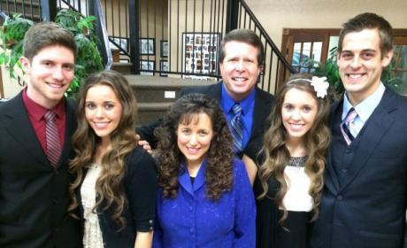 Jill Duggar, Derick Dillard and Family - 19 Kids and Counting