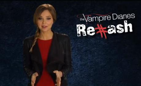 Arielle Kebbel Rehashes a Vampire Diaries Christmas