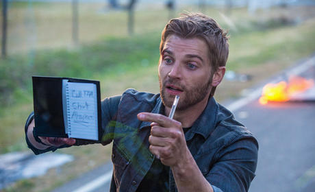 Mike Vogel Goes Under the Dome, Previews New CBS Drama