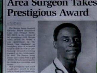 Preston Burke Wins Award