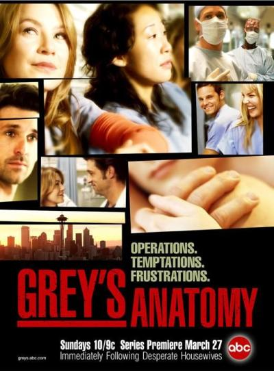 Grey's Anatomy Promotional Poster