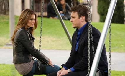 Castle Season Finale: First Look!