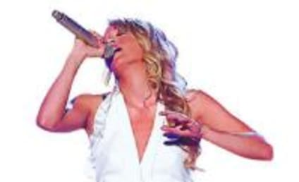 Carrie Underwood Scores at County Music Awards