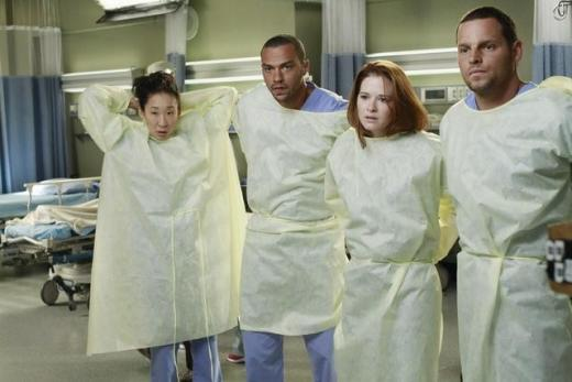 Jackson, Cristina, Alex and April