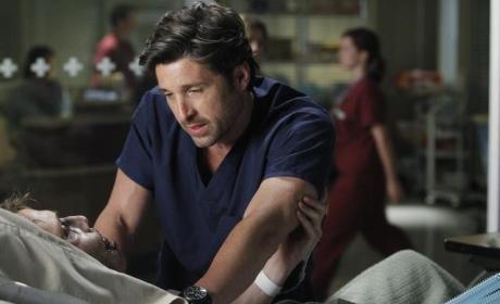 Derek with a Patient