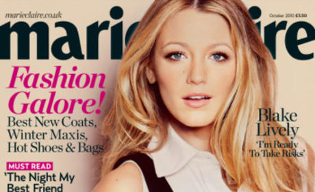 Blake Lively Featured in Marie Claire UK