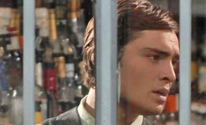 Chuck Bass: Behind Bars!