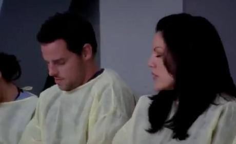 Grey's Anatomy 'Love the One You're With' Clip - Alex, Callie and Jo