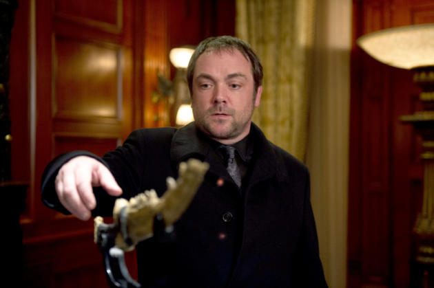 Crowley Grabbing for The First Blade