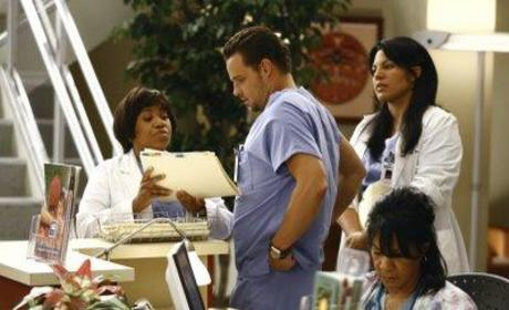 Bailey Bosses Karev