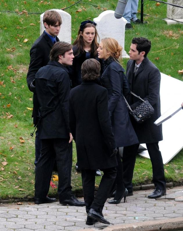 The Cast at the Funeral