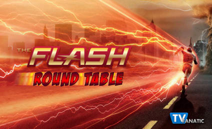 The Flash Round Table: Barry Turned Back Time and Away from Iris