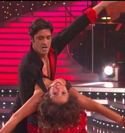 Gilles Marini and Cheryl Burke Performance