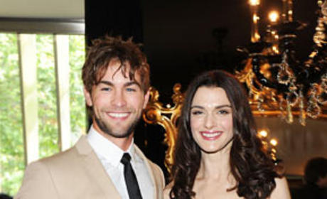 Chace Crawford and Rachel Weisz