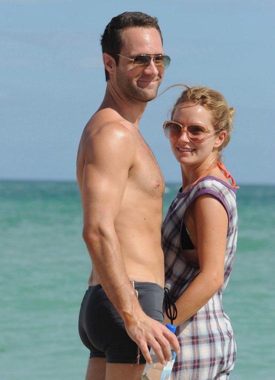 Becki and Chris Pose