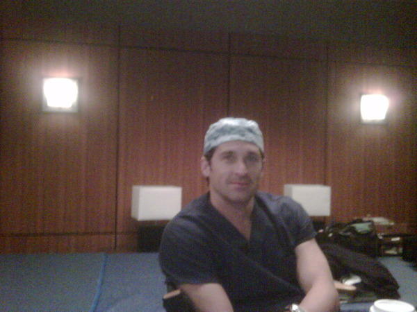 Patrick Dempsey Twitter Pic