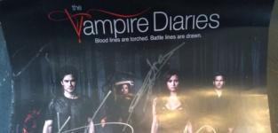 The Vampire Diaries Giveaway: Win a Signed Cast Poster!