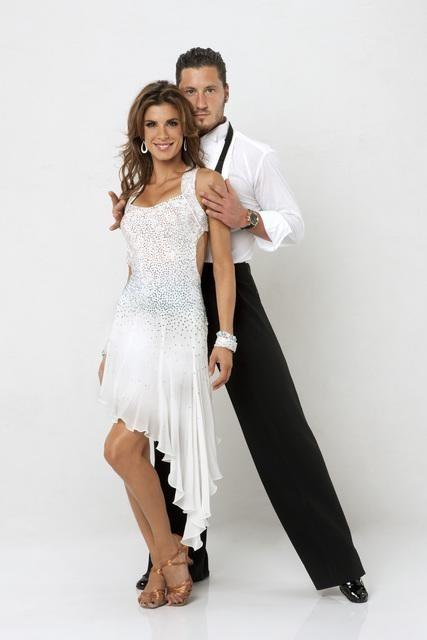 Elisabetta Canalis on Dancing With the Stars