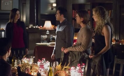 The Vampire Diaries Celebrates Friendsgiving: First Look!