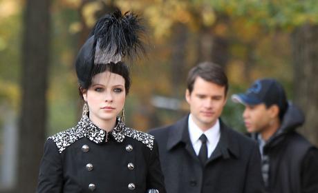 Georgina in Black