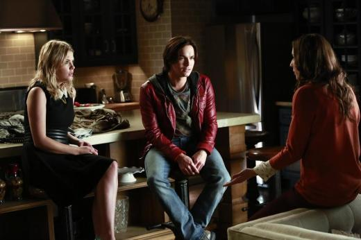 Hanna and Caleb in the Kitchen
