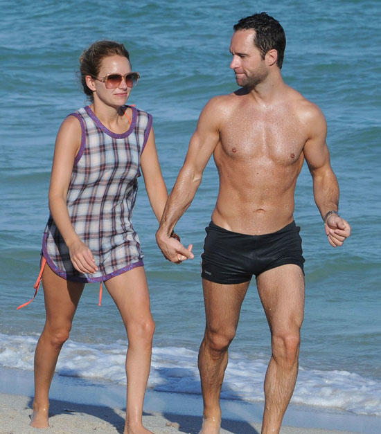 Becki and Chris on the Beach
