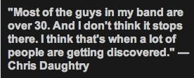 Daughtry Quote