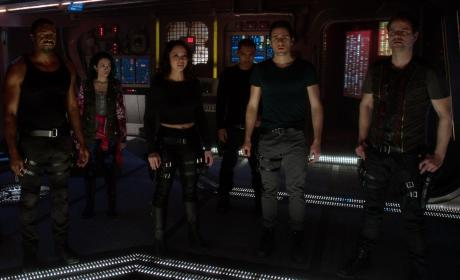 Dark Matter: Cast Members Talk Season 2, New Characters