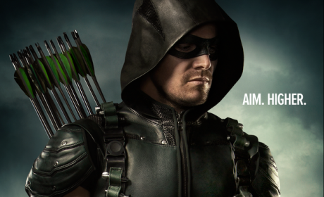 Arrow Season 4 Poster: Aim. Higher.
