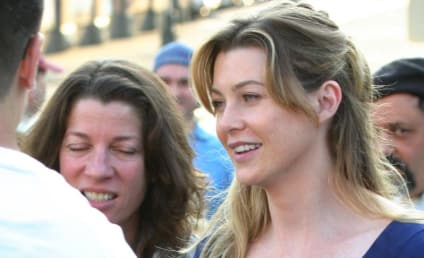 Ellen Pompeo: Smiling in Seattle