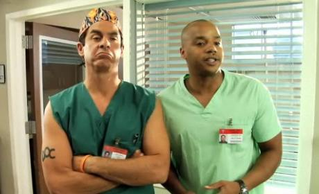 Scrubs Interns 9: Meeting with Turk and the Todd