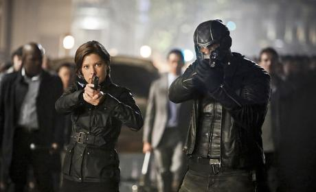 Double team - Arrow Season 4 Episode 23