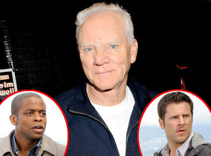 Malcolm McDowell on Psych
